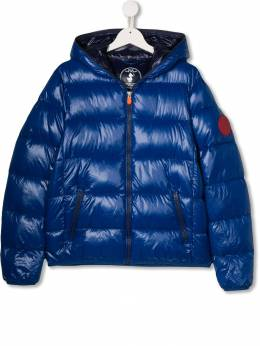 Save The Duck Kids - hooded padded jacket 08BLUCK9955586000000