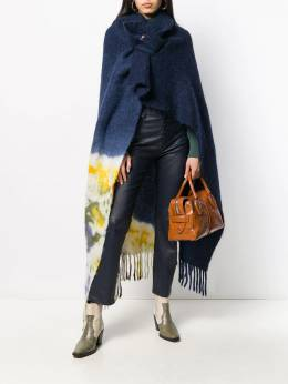 Forte Forte - fringed knitted cape-coat 6MYCOAT9555695500000