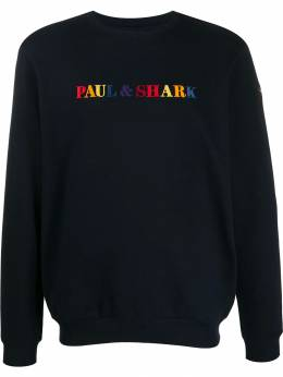 Paul&Shark - logo embroidered sweatshirt P9995955589330000000