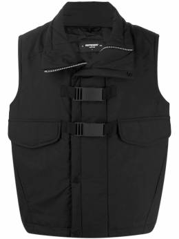 Represent - double buckle padded vest 69395538380000000000