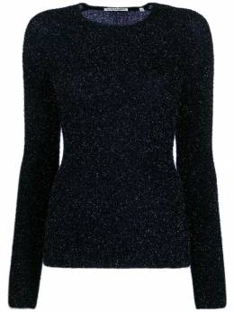 Our Legacy - metallized fitted jumper 93SN9555966900000000