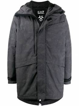 Ea7 Emporio Armani - hooded padded coat B90PNU0Z955559950000
