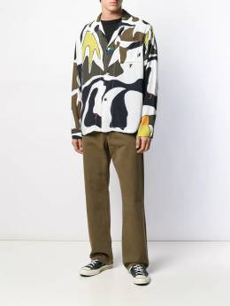Our Legacy - long-sleeved abstract-print shirt 90BT9553995500000000