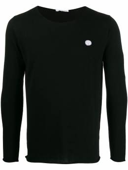 Société Anonyme - patch detail crew-neck jumper CHPULL95556395000000