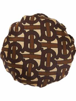 Burberry - Monogram Print Silk Chignon Cover 96099555653600000000