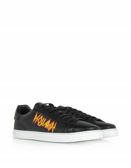 Punk New Tennis Sneakers w/ Rock Print Dsquared2 SNM0084 / 06502238 39