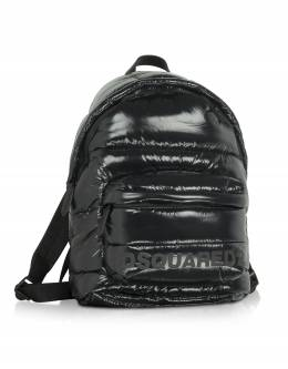 Quilted Nylon Men's Backpack Dsquared2 BPM0016 / 11702380 2118 NERO