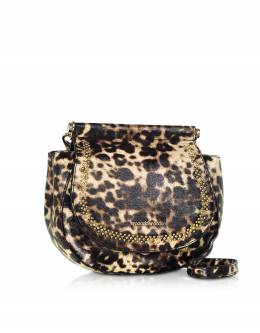 Pretzel Shoulder Bag Roccobarocco ROBS3NB02 NATUR/MULTI