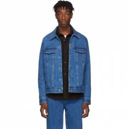 A.P.C. Indigo Denim Charles Jacket 192252M17700305GB
