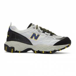 New Balance Grey 801 Sneakers 192402M23704502GB