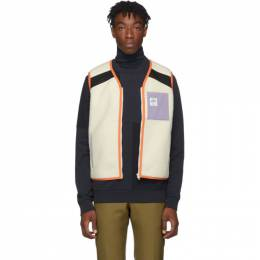 A.P.C. Off-White Brain Dead Edition Sherpa Jo Vest 192252M18500202GB