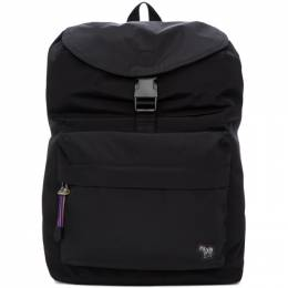 Ps by Paul Smith Black Zebra Backpack 192422M16600301GB