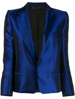 Haider Ackermann - high shine jacquard blazer 96669959555899500000