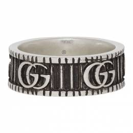 Gucci Silver Double G Ring 201451M14736508GB