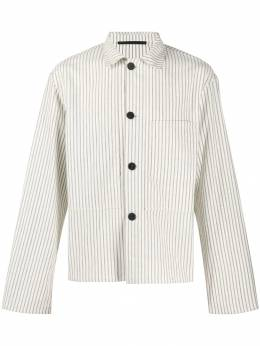Haider Ackermann - striped cropped shirt 3666B933956638680000