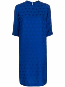 Haider Ackermann - polka-dot jacquard dress 00689369569069500000