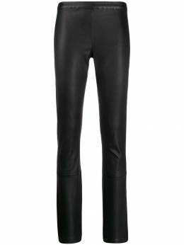 Haider Ackermann - slim fit leather trousers 95900399569065500000